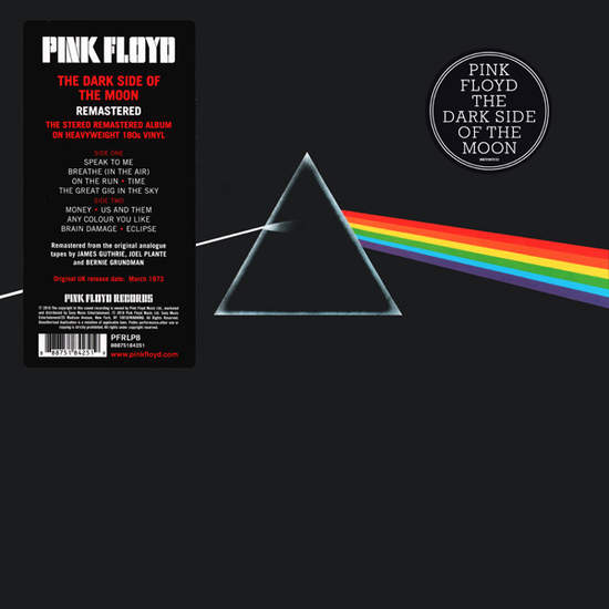 Pink Floyd - The Dark Side Of The Moon Record