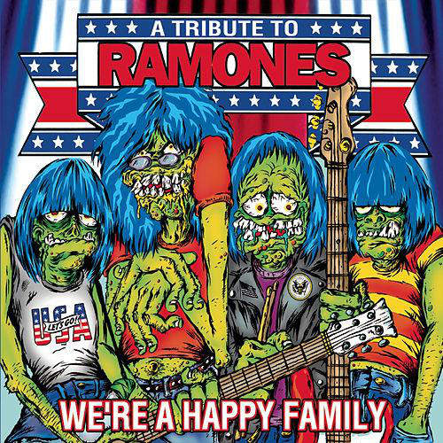 Various - We're A Happy Family - A Tribute To Ramones - LP Colored Vinyl