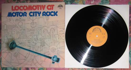 Locomotiv Gt - Motor City Rock - LP
