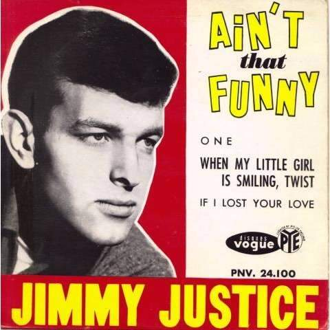 Jimmy Justice - Ain't That Funny - EP