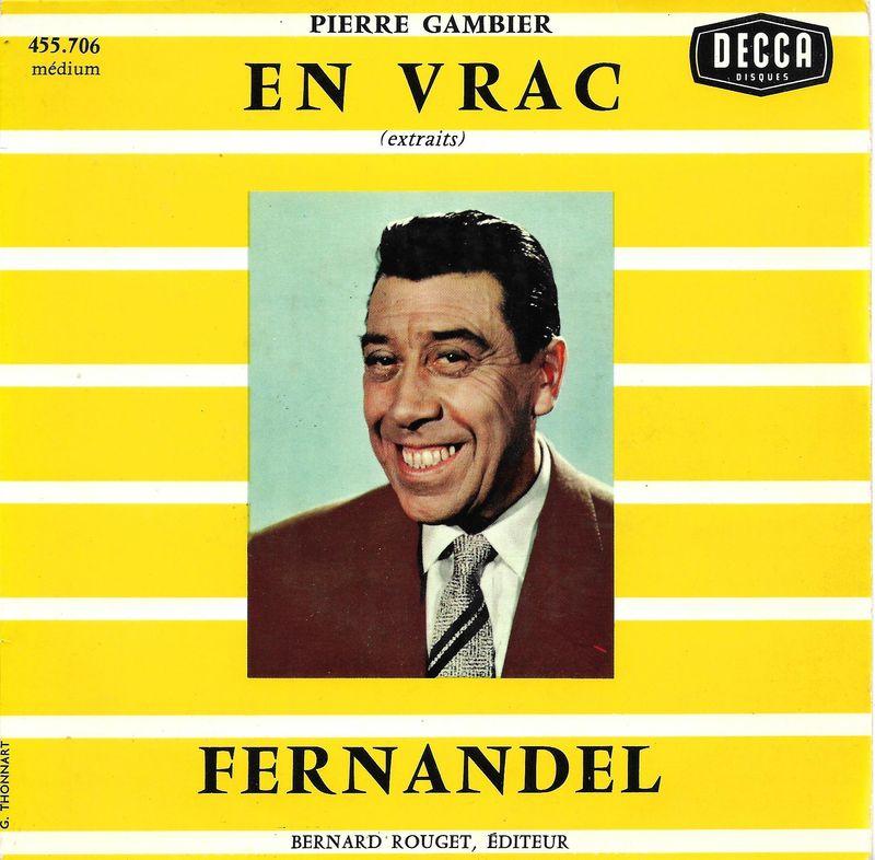Fernandel - En Vrac - EP