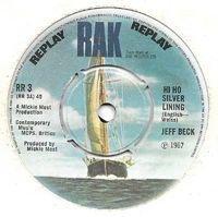 "Jeff Beck - Hi Ho Silver Lining - 7"""