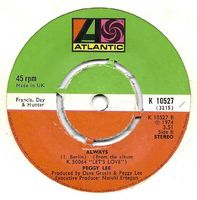 """Peggy Lee - Let's Love - 7"""""""