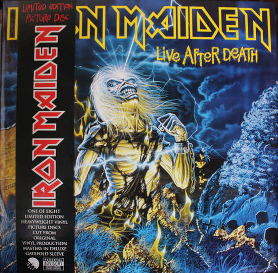 """Iron Maiden - Live After Death - 12"""" Pic Disc"""