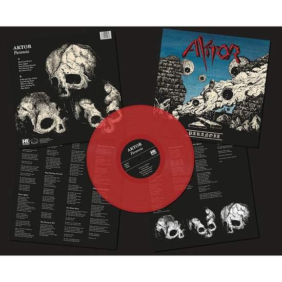 Aktor - Paranoia - Red Transparent - LP