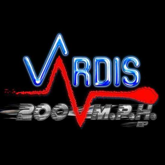 "Vardis - 200 M.p.h. - Black Mlp - 12"" Mini LP"
