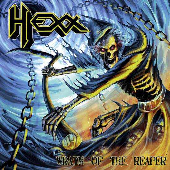 Hexx - Wrath Of The Reaper - LP