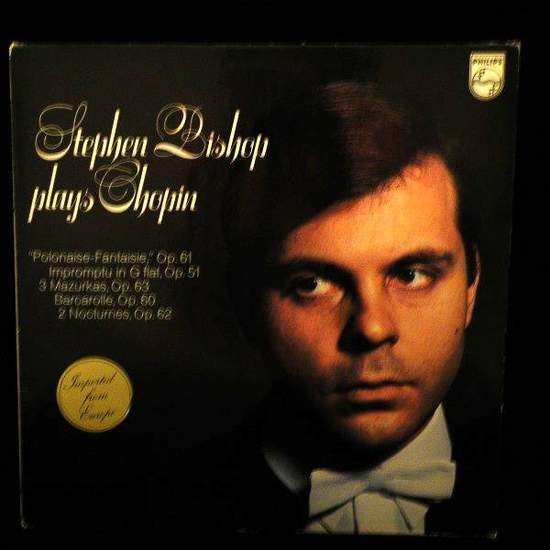 Stephen Bishop - Stephen Bishop Plays Chopin - LP