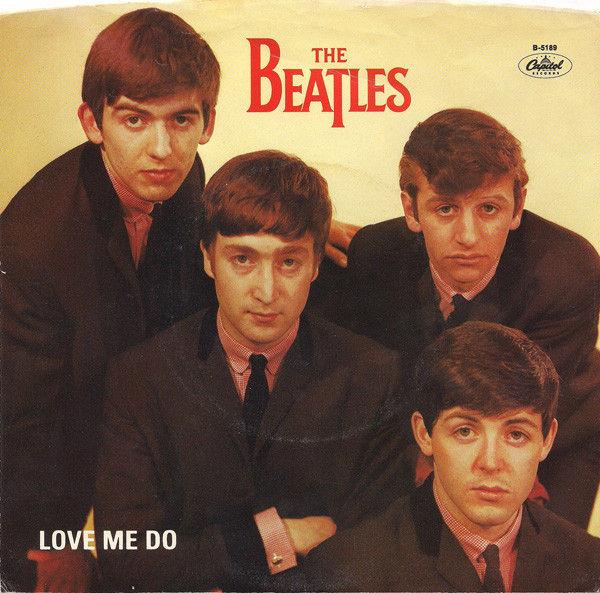 "Beatles - Love Me Do - 7"""