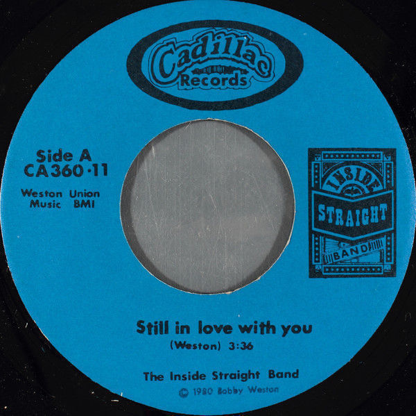 Inside Straight Band - Still In Love With You / nashville, Tenn. - 45