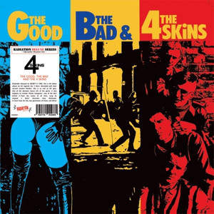 4 Skins - The Good, The Bad & The 4 Skins - LP