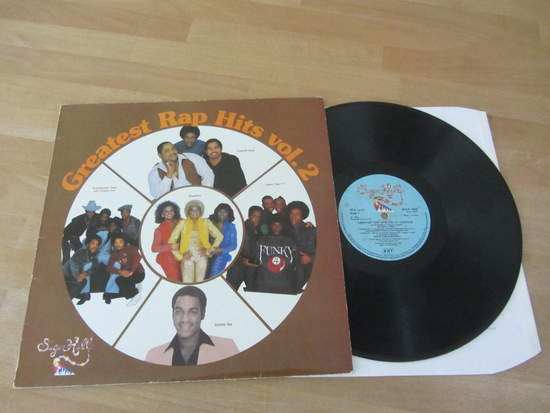Various - Sugarhill - Greatest Rap Hits Vol.2 - LP