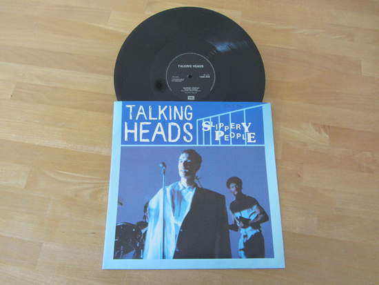 "Talking Heads - Slippery People / Naive Melody - 12"" PS"