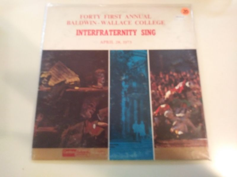 Various Artists - Forty First Annual Baldwin-wallace College Interfraternity Sing - 2LP
