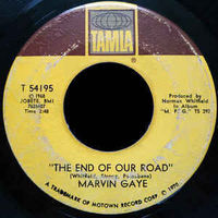 Marvin Gaye - The End Of Our Road (variant Matrix) - 7""
