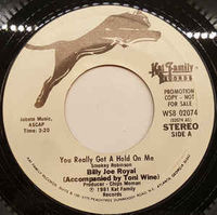 Billy Joe Royal Accompanied By Toni Wine - You Really Got A Hold On Me (promo) - LP
