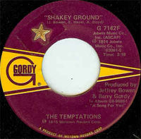 Temptations - Shakey Ground / I'm A Bachelor - 7""