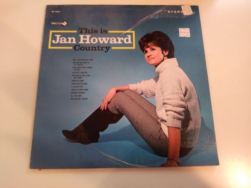 Jan Howard - This Is Jan Howard Country (stereo) - LP