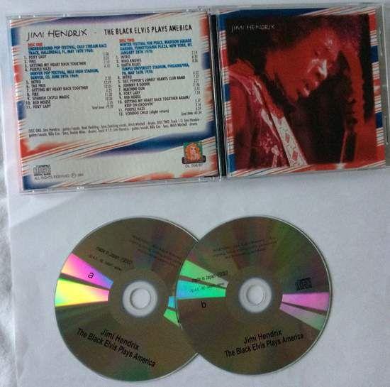 Jimi Hendrix Black Elvis Plays America
