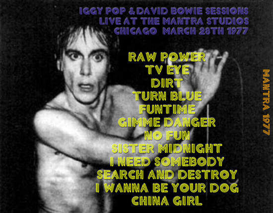 David Bowie & Iggy Pop - Live At Mantra 1977