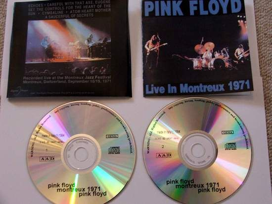 Pink Floyd Live In Montreux 1971