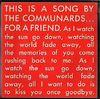 Communards - For A Friend