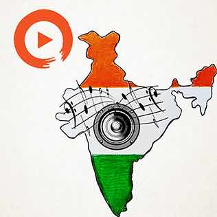 Music to Indie India Playlist Home Page