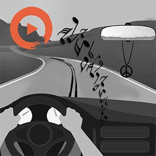 Music to Love Your Commute Playlist Home Page