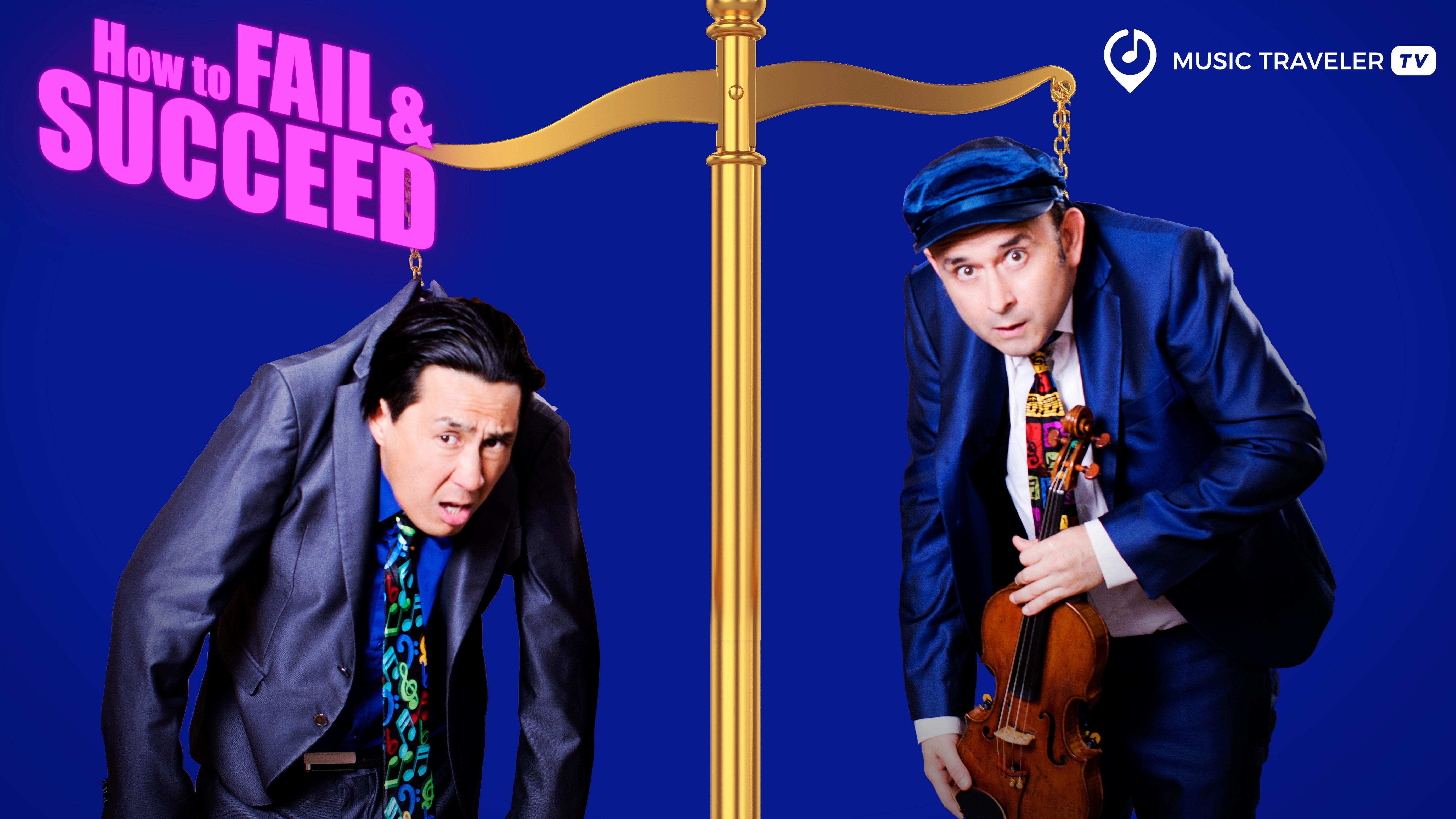Von Fehlern und Erfolgen - Igudesman & Joo präsentieren neue Show auf Music Traveler.TV