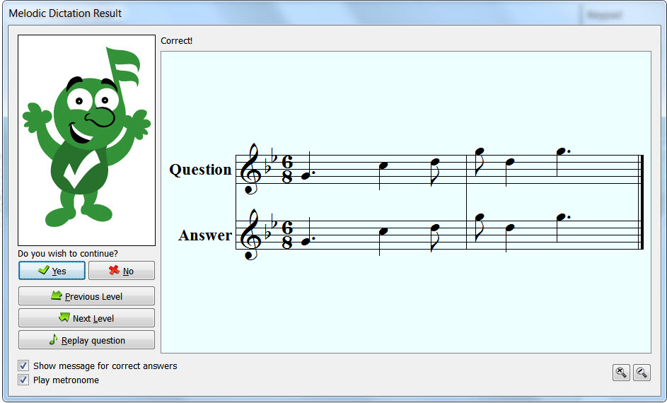 Music Theory Teaching Tools: Auralia Melodic Dictation