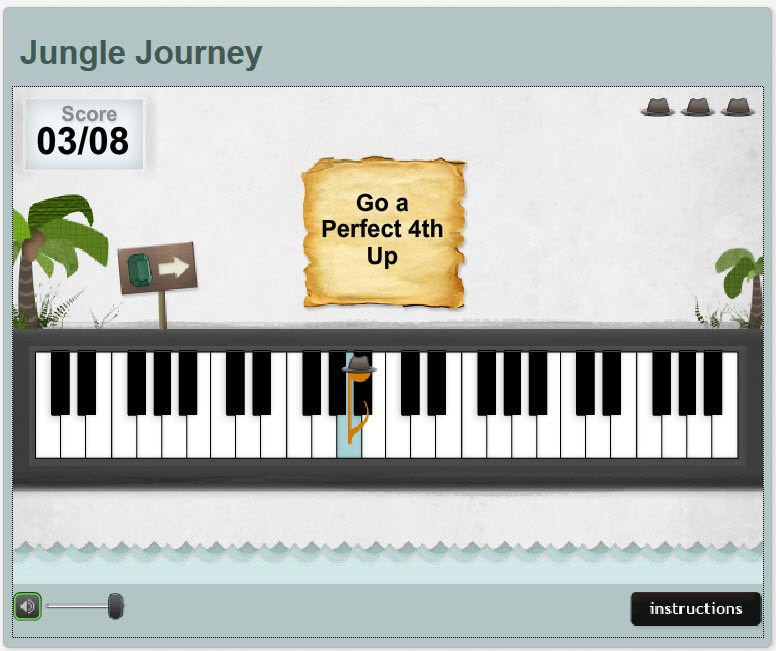 Music Theory Teaching Tools: Tonic Tutor Jungle Journey