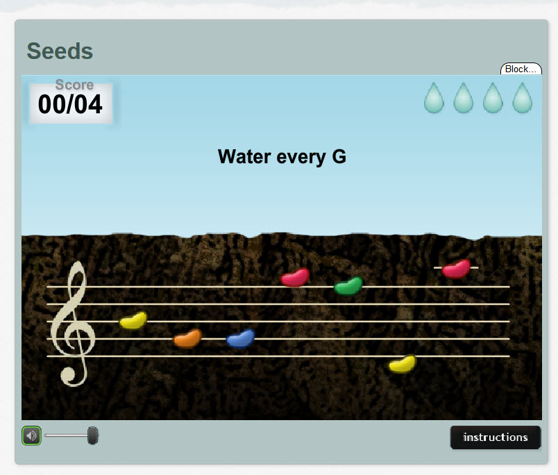 Music Theory Teaching Tools: Tonic Tutor Seeds
