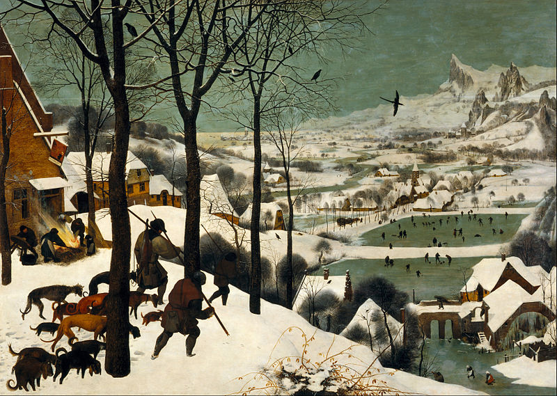 Tarkovsky's Solaris: Bach and God: Painting - Hunters in the Snow