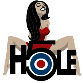 Five hole logo