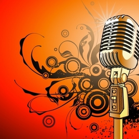 Microphone vector art tn2
