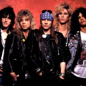 2595208 guns n roses old photo