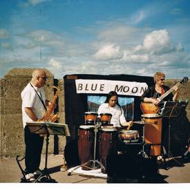 Blue moon at festival of world cultures dun laoghaire