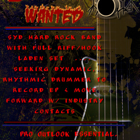 Drummer wanted2