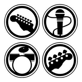 Rock band icon pack 158