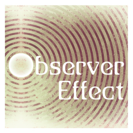 Observer effect band logo