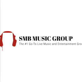 Smb music group logo with headphones
