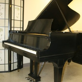 Steinway b grand piano recent total rebuild satin ebony 1915  28 500. pic 1