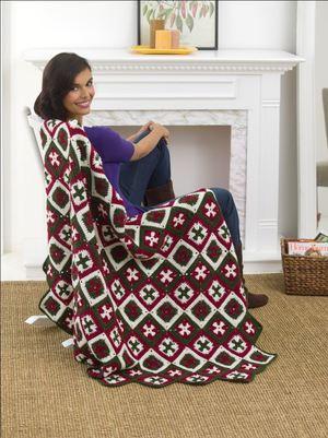 Southern Cross Crochet Afghan
