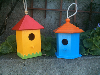 Easy Birdhouse Crafts