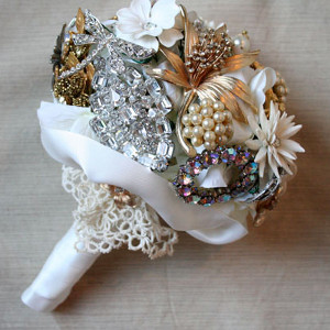 Antique Brooch Bouquet