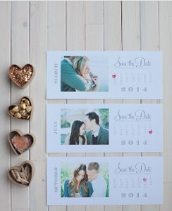 Sweet Save the Date Calendar Printable