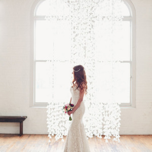 Elegant Wax Paper Backdrop