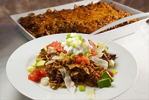 Beef Enchilada Pie