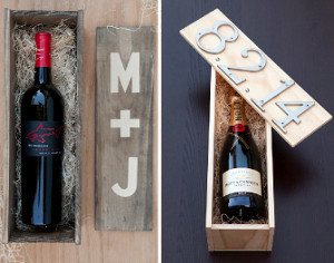 DIY Wedding Ceremony Wine Box