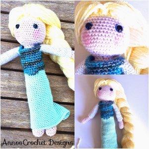 Crochet An Elsa Doll : 27 Crochet Dolls: How to Make Cute Dolls and Accessories ...